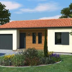 Maison  4 pièces + Terrain  544 m² Les Roches Prémaries