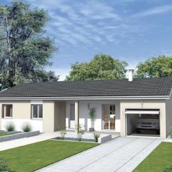 Maison  4 pièces + Terrain  600 m² Chanoz-Châtenay