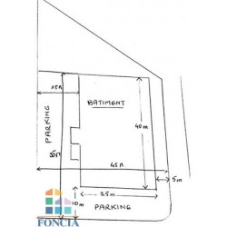 Vente Local commercial Saint Liguaire 1000 m²