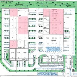 Location Local d'activités Lieusaint 1723 m²