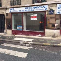 Location Local commercial Paris 20ème 122 m²