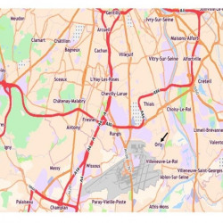 Location Local d'activités Orly 7390 m²