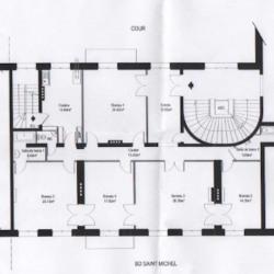 Location Bureau Paris 6ème 159 m²