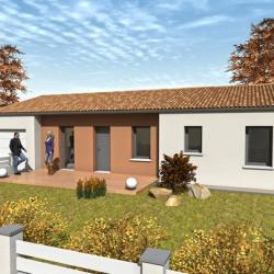 Maison  3 pièces + Terrain  160 m² Trouillas