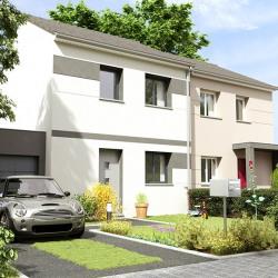 Maison  4 pièces + Terrain  400 m² Mantes-la-Jolie