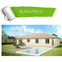 Maison  4 pièces + Terrain  851 m² Santa-Lucia-Di-Moriani