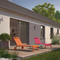 Maison  4 pièces + Terrain  730 m² Dreux
