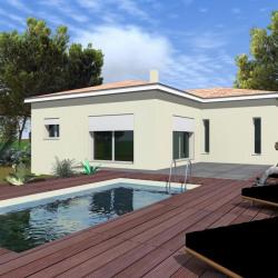 Maison  1 pièces + Terrain  335 m² Meynes