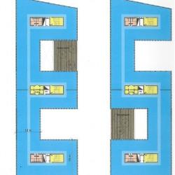 Location Bureau Champs-sur-Marne 4500 m²