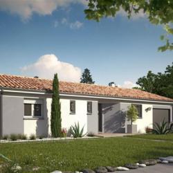 Maison  4 pièces + Terrain  1050 m² Abzac