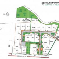 Terrain  de 623 m²  Erbray  (44110)