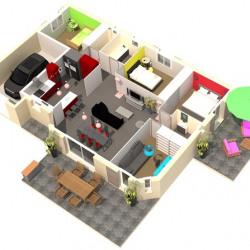 Maison  5 pièces + Terrain  620 m² Eyguières