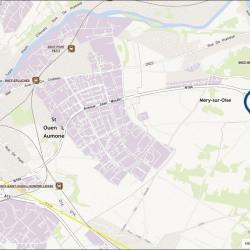 Location Local d'activités Saint-Ouen-l'Aumône 3981 m²