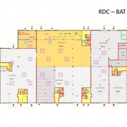 Location Local d'activités Verrières-le-Buisson 2029 m²