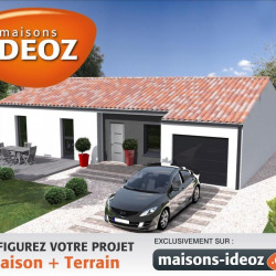 Maison  5 pièces + Terrain  971 m² Bourg