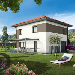 Maison  4 pièces + Terrain  600 m² Montagnieu