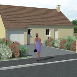 Maison  4 pièces + Terrain  800 m² Saint-Julien-le-Faucon