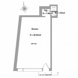 Location Local commercial Lourdes 41,5 m²