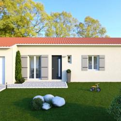 Maison  5 pièces + Terrain  3600 m² Migné-Auxances