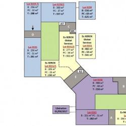 Location Bureau Villepinte 2871 m²
