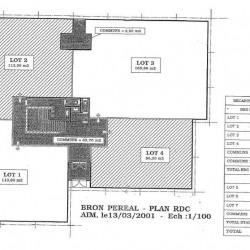 Location Bureau Bron 1340 m²