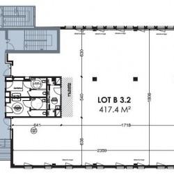 Location Bureau Lyon 7ème 450 m²