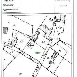 Vente Terrain Chessy-les-Prés 1883 m²