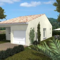 Maison  3 pièces + Terrain  180 m² Murviel-Lès-Béziers