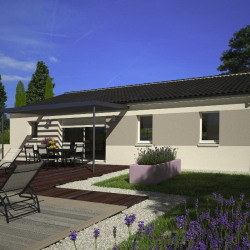 Maison  5 pièces + Terrain  635 m² Marthon