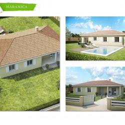 Maison  3 pièces + Terrain  500 m² Prunete