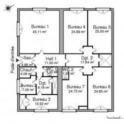 Location Local d'activités Vienne 215,84 m²