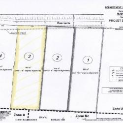 Vente Terrain Marquion 907 m²