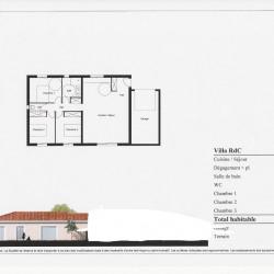 Maison  4 pièces + Terrain  571 m² Lucciana