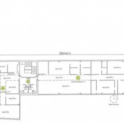 Location Bureau Joué-lès-Tours 620 m²