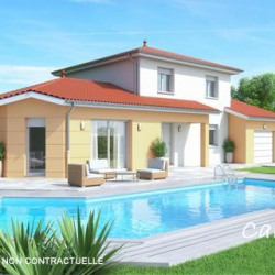 Maison  5 pièces + Terrain  440 m² Jonage (69330)