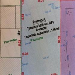 Vente Terrain Bordeaux 149 m²