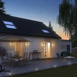 Maison  3 pièces + Terrain  400 m² Mantes-la-Jolie