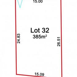 Vente Terrain Bretteville-sur-Odon 385 m²