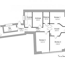 Location Local commercial Montauban 84,51 m²