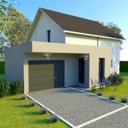Maison  4 pièces + Terrain  3500 m² Sermamagny (90300)