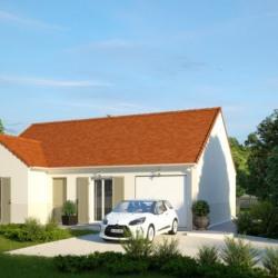 Maison  3 pièces + Terrain  550 m² Monts