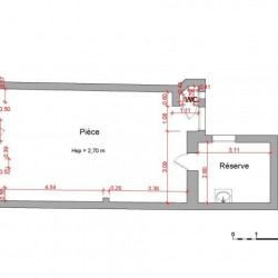 Location Local commercial Jarville-la-Malgrange 42,68 m²