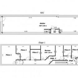 Location Local commercial Le Plessis-Trévise 208,02 m²