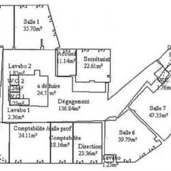 Location Bureau Paris 16ème 741 m²