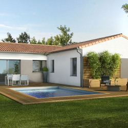 Maison  4 pièces + Terrain  500 m² Cazères