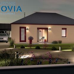 Maison  4 pièces + Terrain  536 m² Saint-Cyprien-sur-Dourdou