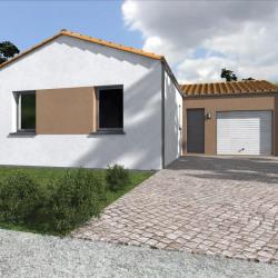 Maison  4 pièces + Terrain  576 m² Courlay