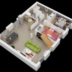 Maison  6 pièces + Terrain  955 m² Saulnières
