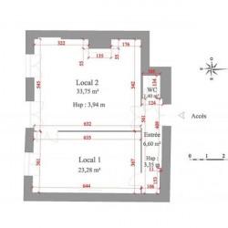 Location Local d'activités Trévoux 65,03 m²