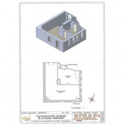 Location Entrepôt Nancy 174,55 m²